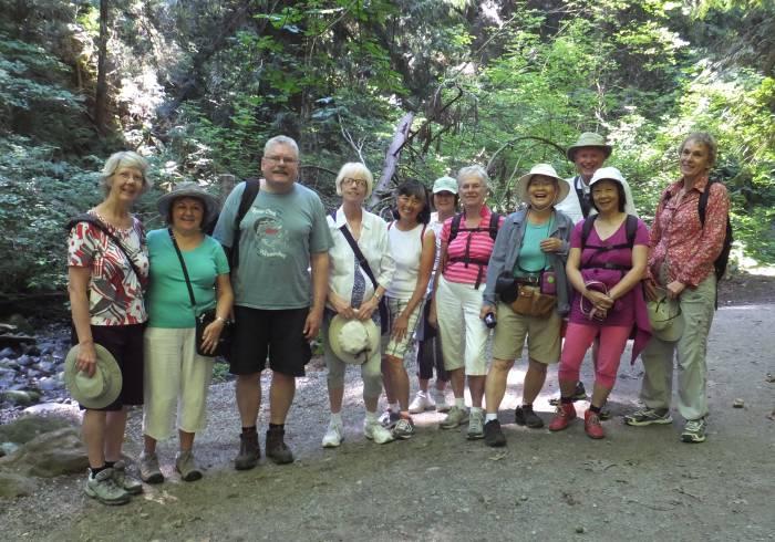 Vancouver Retired Teacher tour Byrne Creek