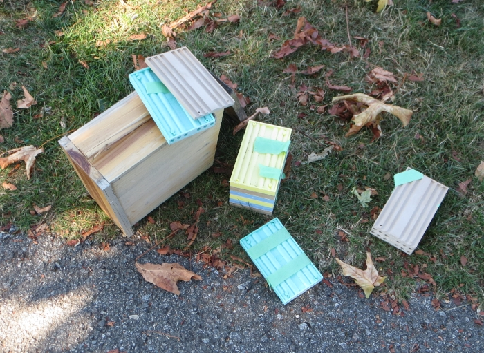 Mason Bee condo destroyed in Burnaby