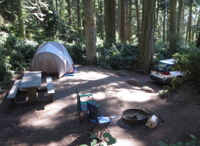 Deception Pass campground