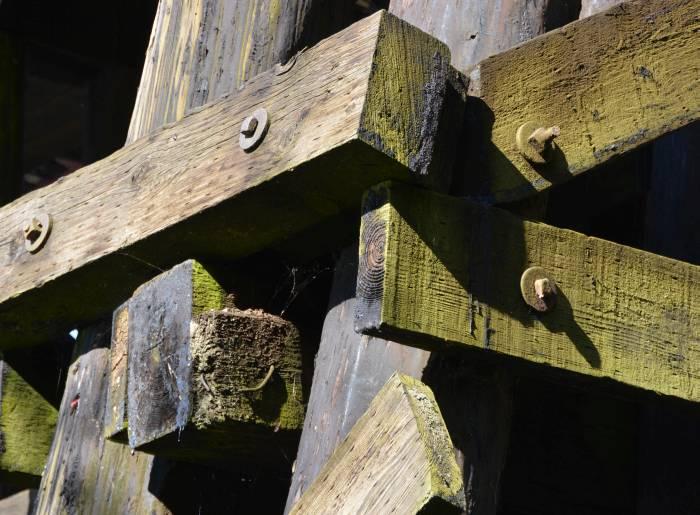 railway bridge beams