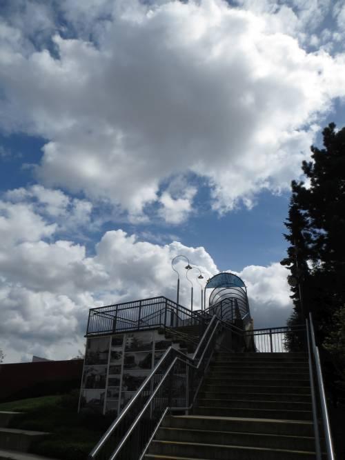 new westminster bc skies