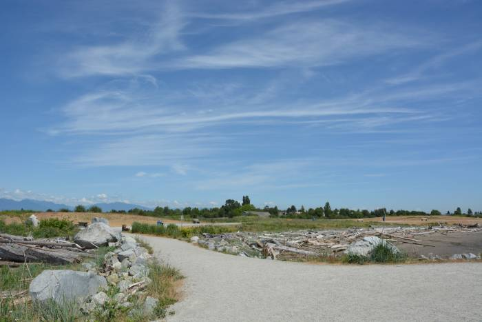 garry point park, steveston, bc