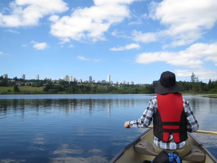Deer Lake canoeing