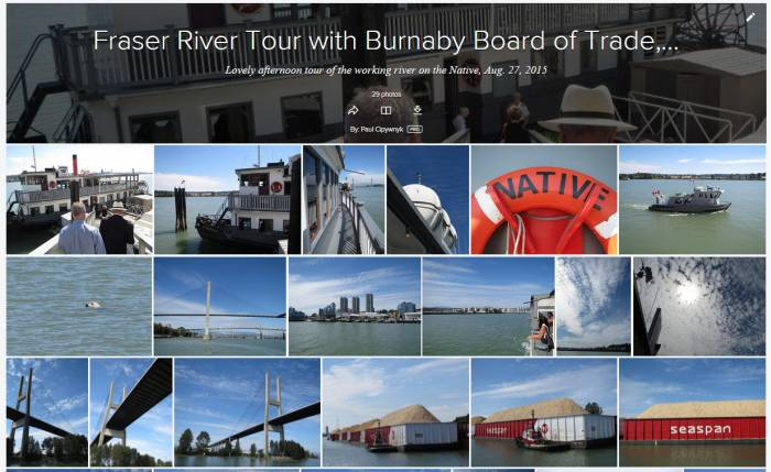 Fraser River Tour Flickr Album