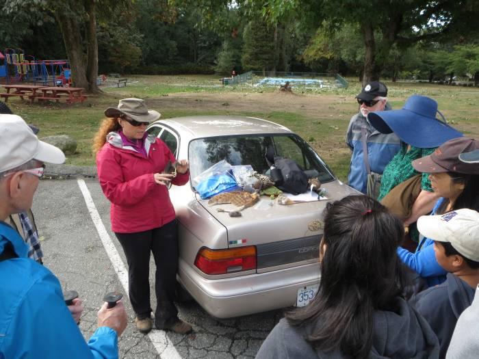 Byrne Creek nature tour