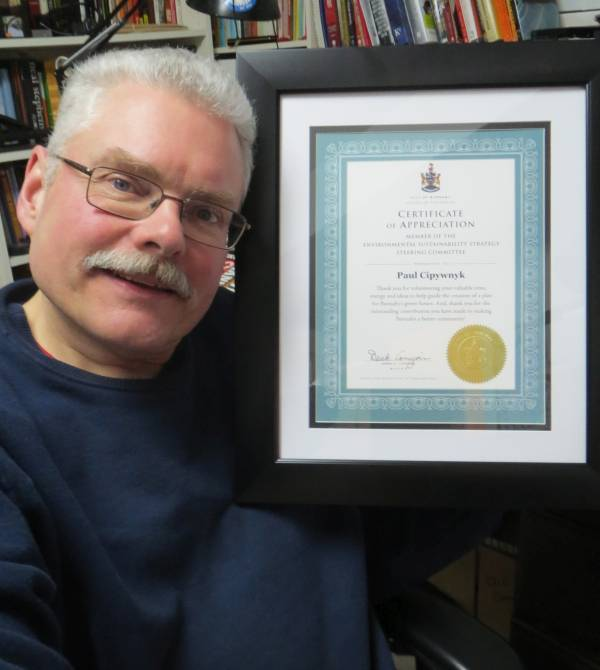 Paul Burnaby ESS Certificate