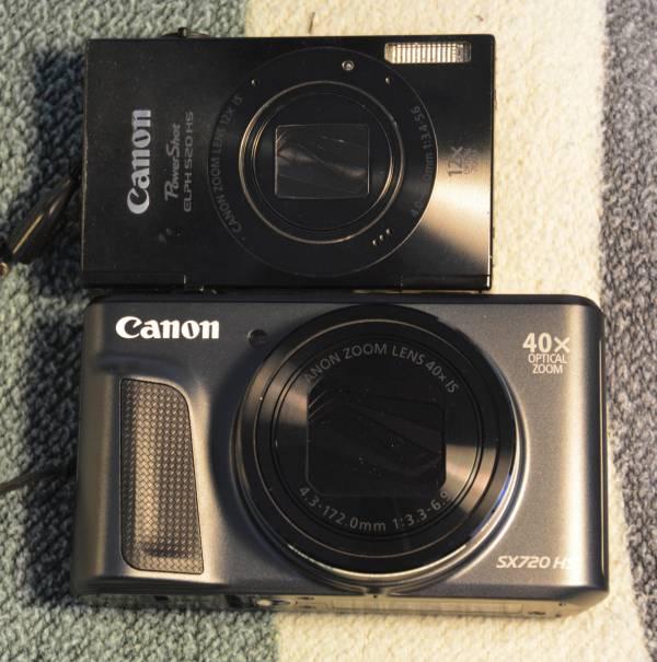 Canon 520HS Canon 720HS