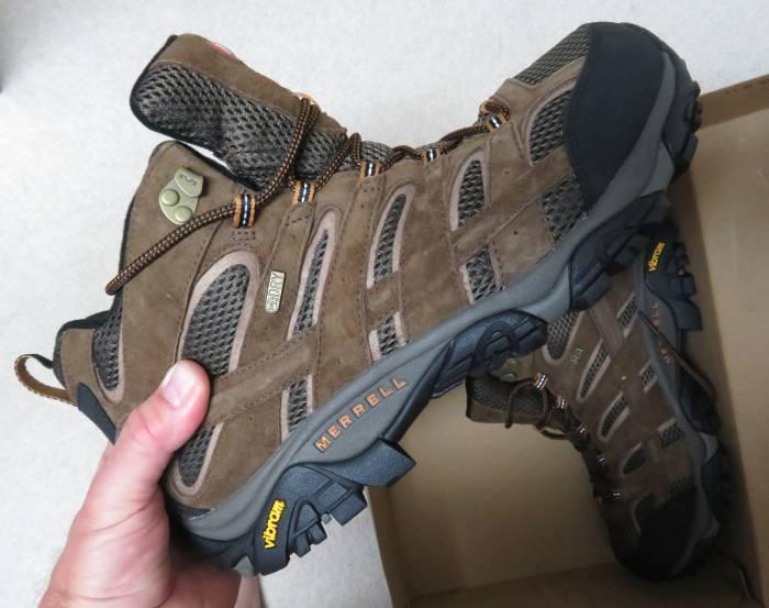 Merrell Vibram hiking boots