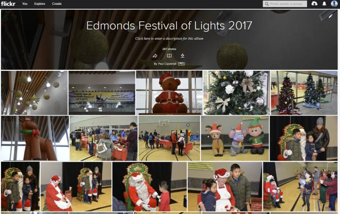 Edmonds Festival of Lights