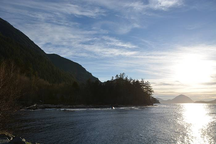 Blue Skies at Porteau Cove
