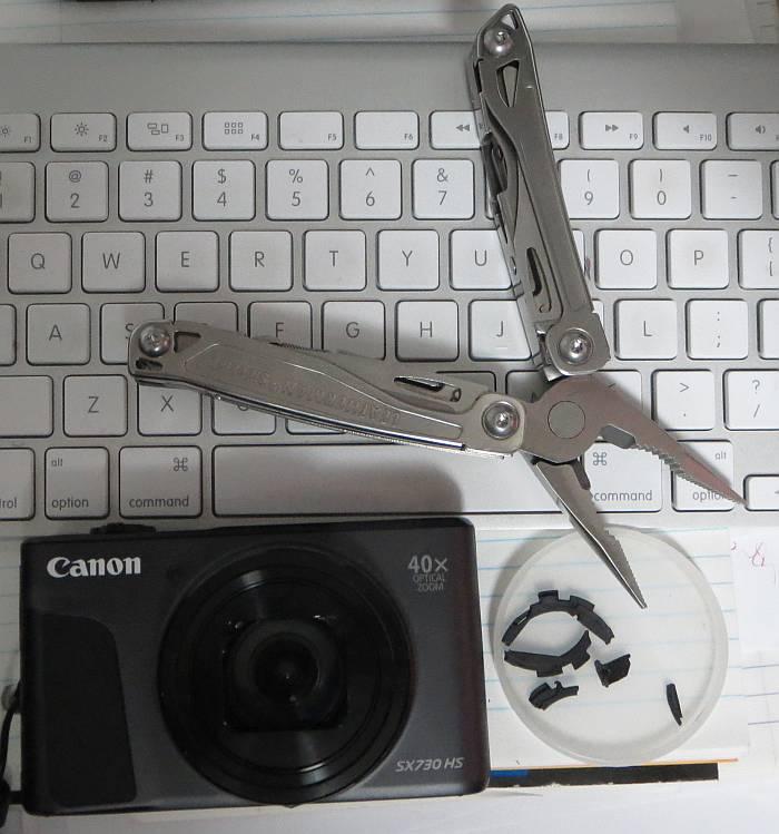 Canon SX730HS Surgery