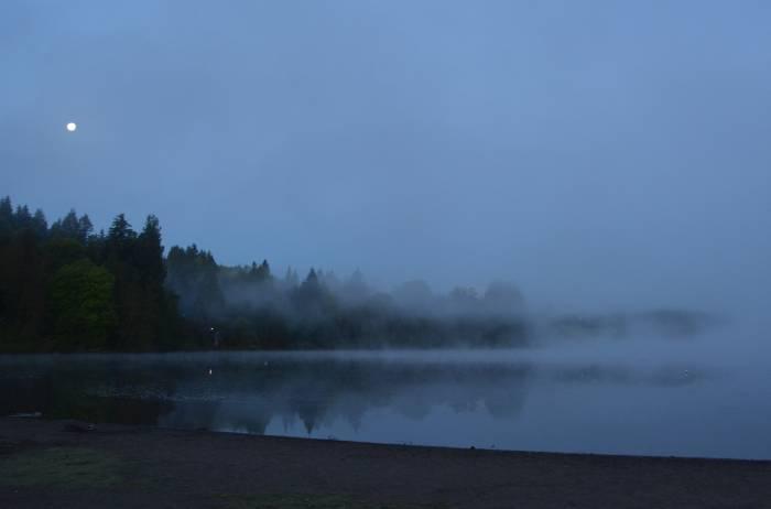 Deer Lake Burnaby early morning