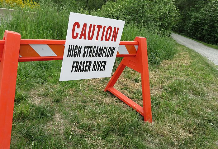 high streamflow warning