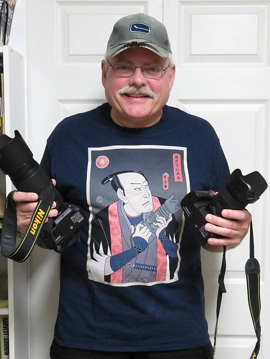 paul cipywnyk photographer samurai t-shirt