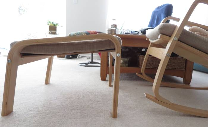 ikea rocker stool set