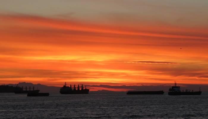 Vancouver English Bay sunset