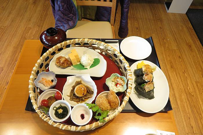 Aomori scallops meal