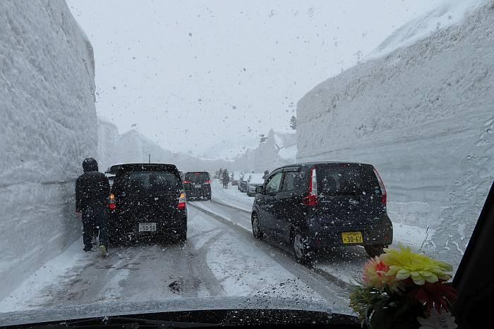 Aomori snow road
