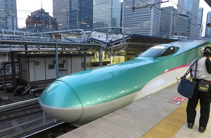 Tohoku Shinkansen Tokyo Station