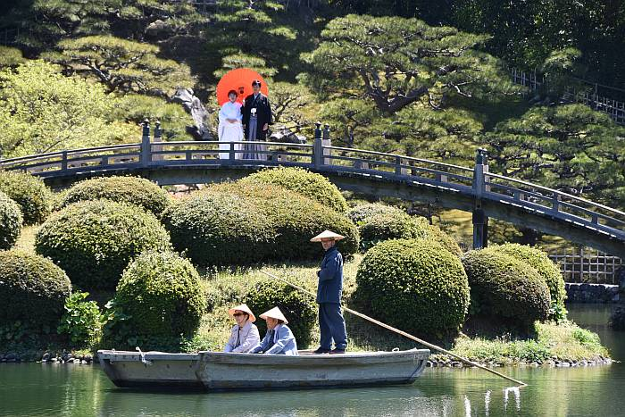 Wedding Ritsurin Garden Takamatsu Japan