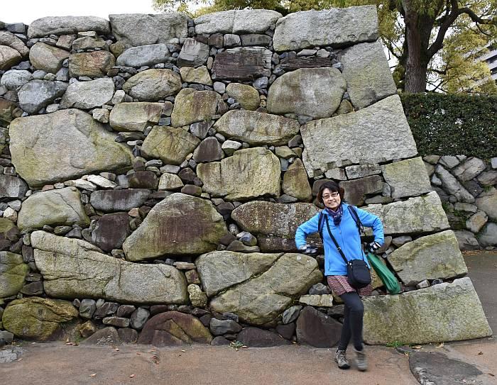 yumi castle wall samurai ninja