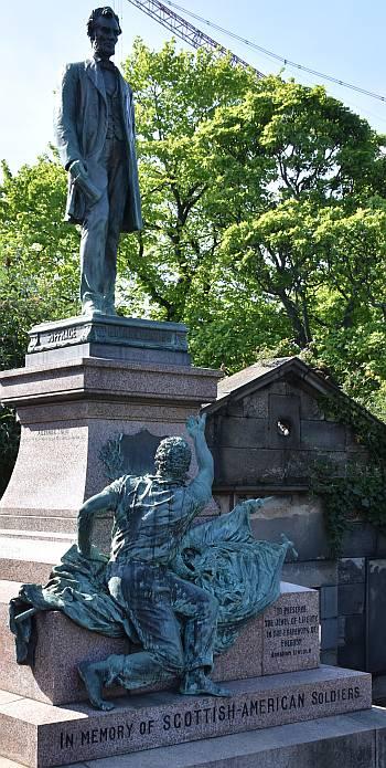 abraham lincoln statue edinburgh