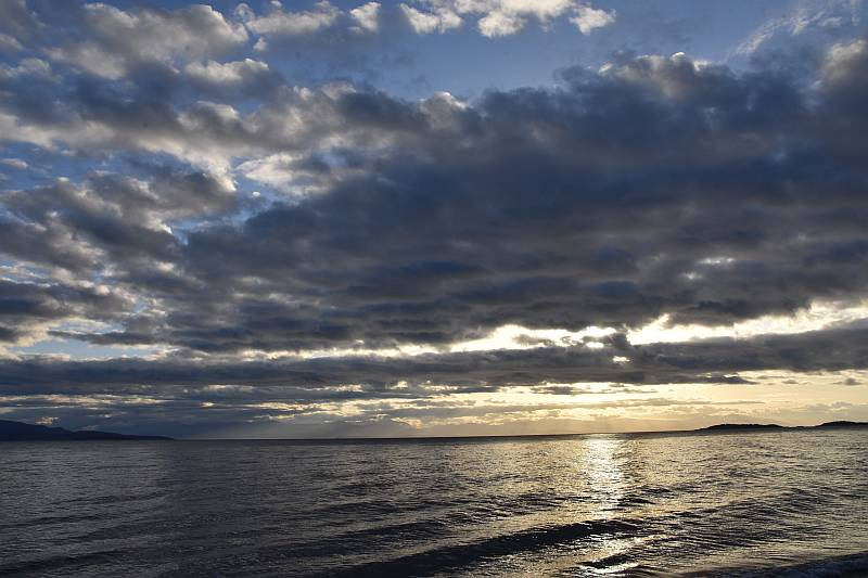 rathtrevor beach sunrise