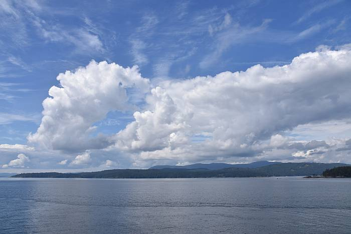 clouds bc ferries