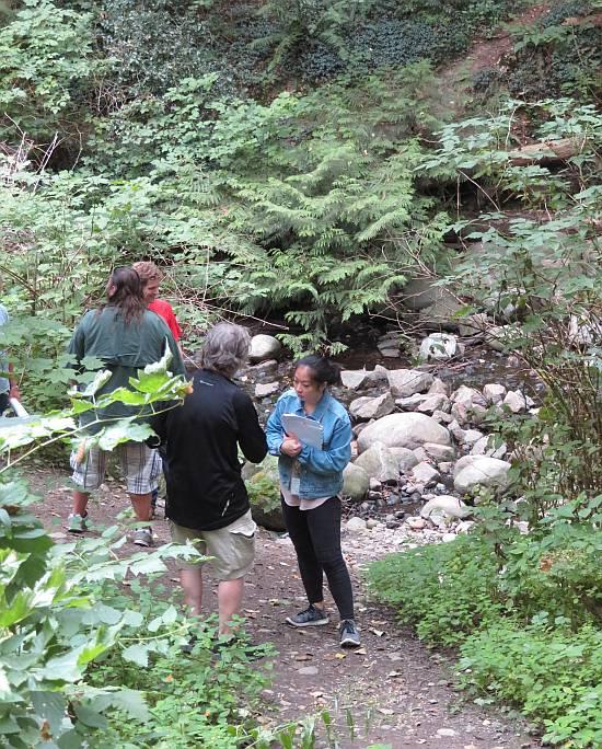 bc hydro byrne creek tour
