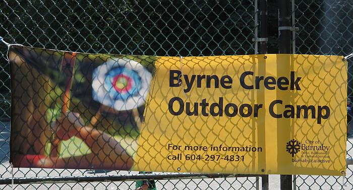 Byrne Creek tour summer camp kids