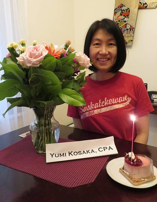 yumi koska cpa flowers