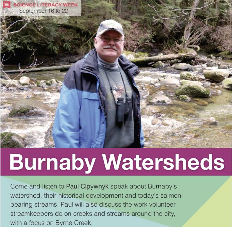 burnaby watersheds library poster