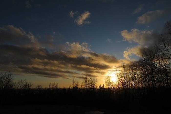 south burnaby bc sunset