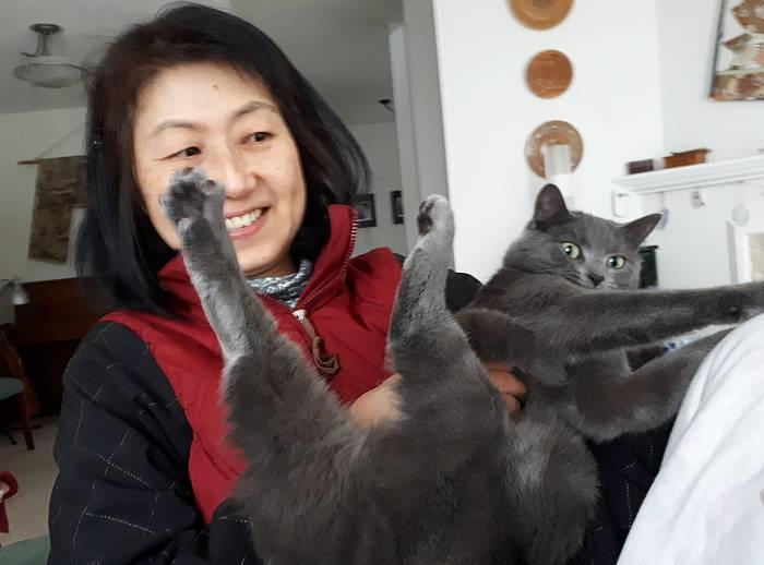 yumi goofy sora cat