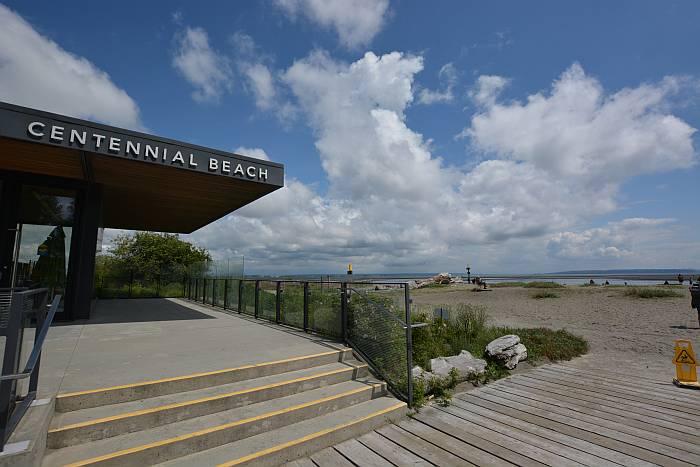 scenic views big skies centennial beach delta bc