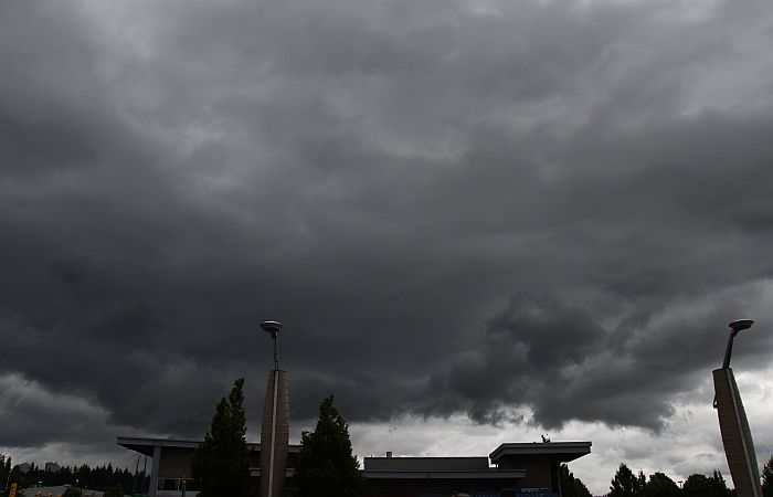 stormy skies burnaby bc