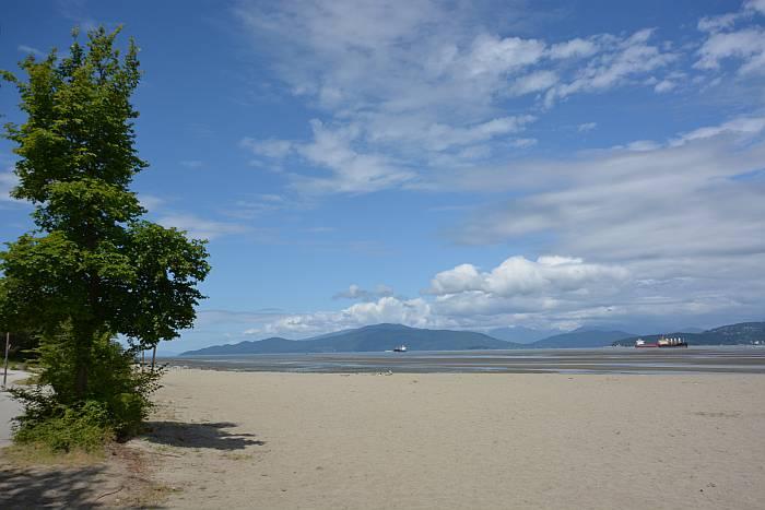 spanish banks beach sunshine vancouver bc