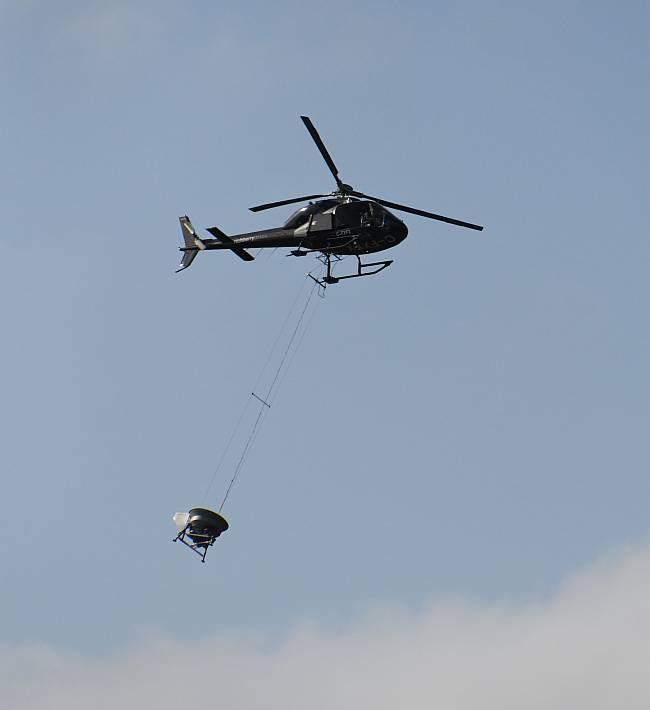 bucket helicopter