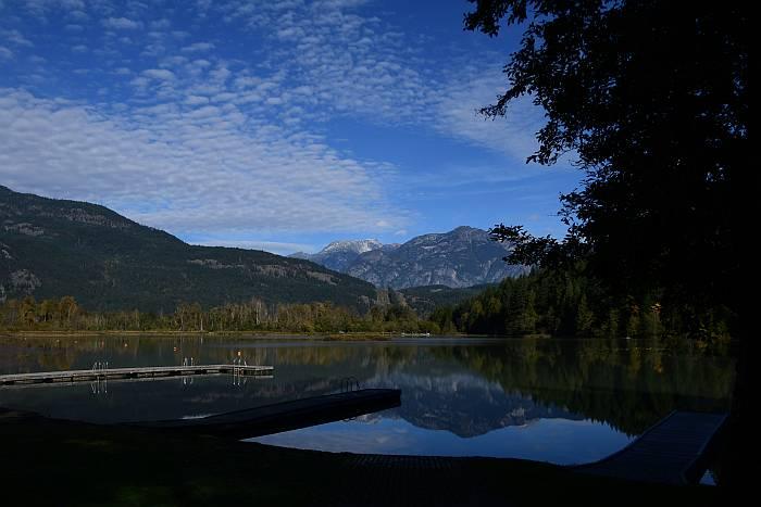 one mile lake pemberton bc