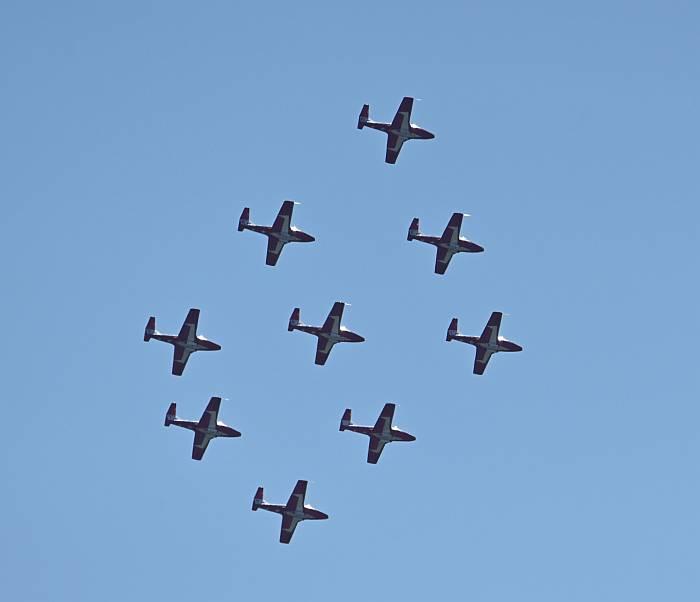 snowbirds flight team burnaby bc